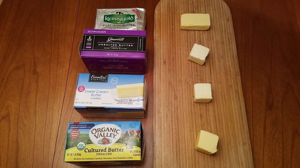 unsalted butters