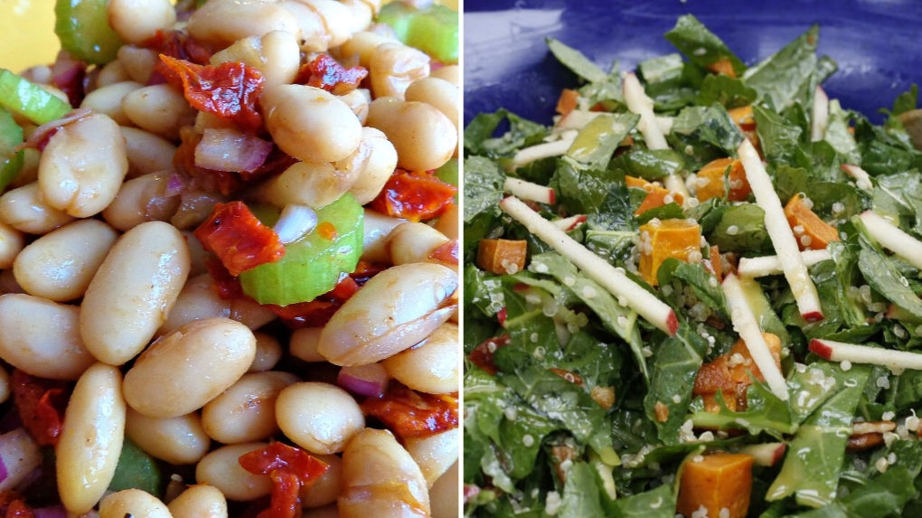 Tuscan Bean & Superfood Salads